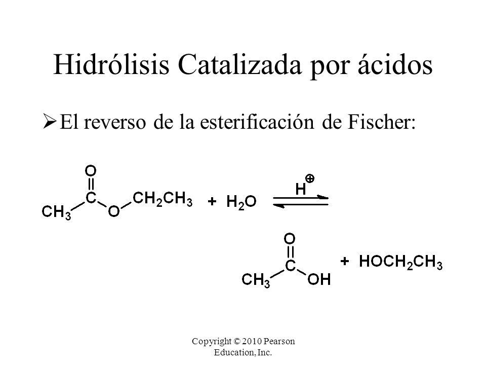 Hidrólisis Catalizada por ácidos