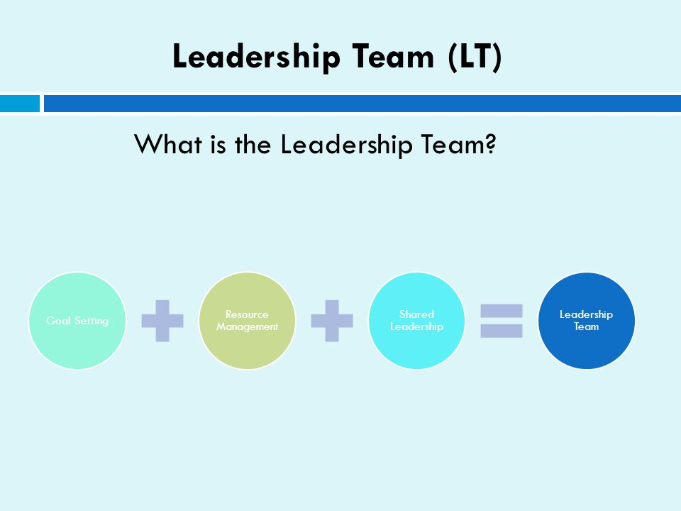 What is the Leadership Team