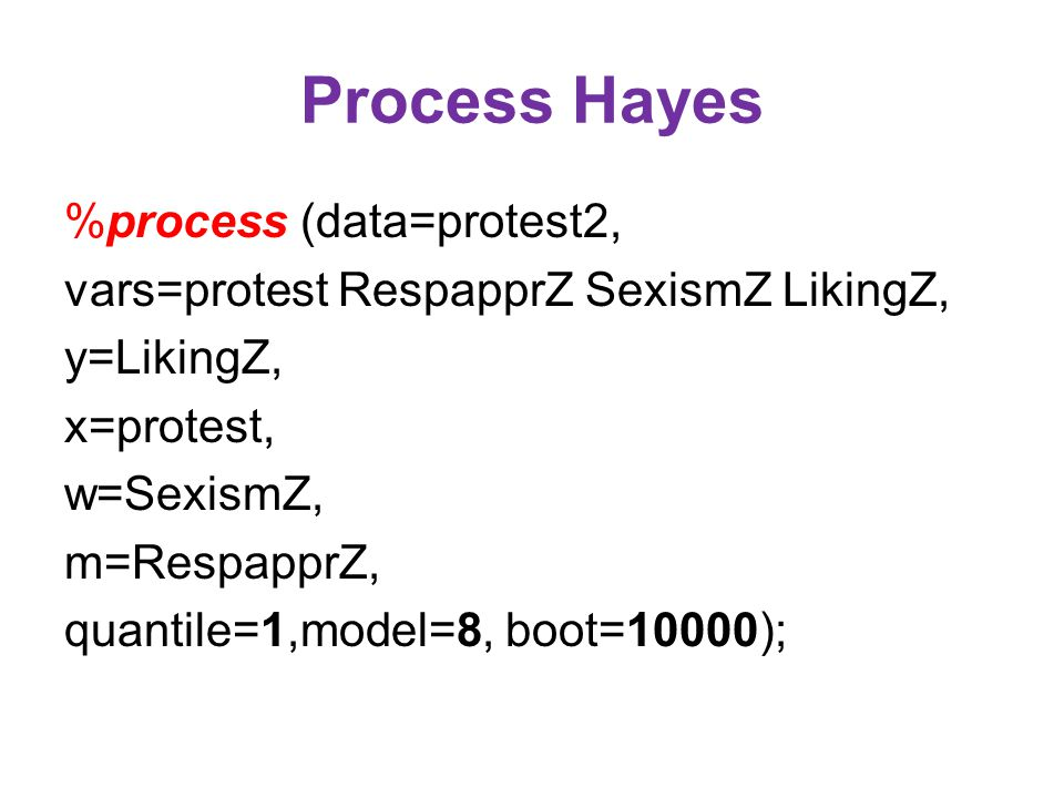 Process Hayes