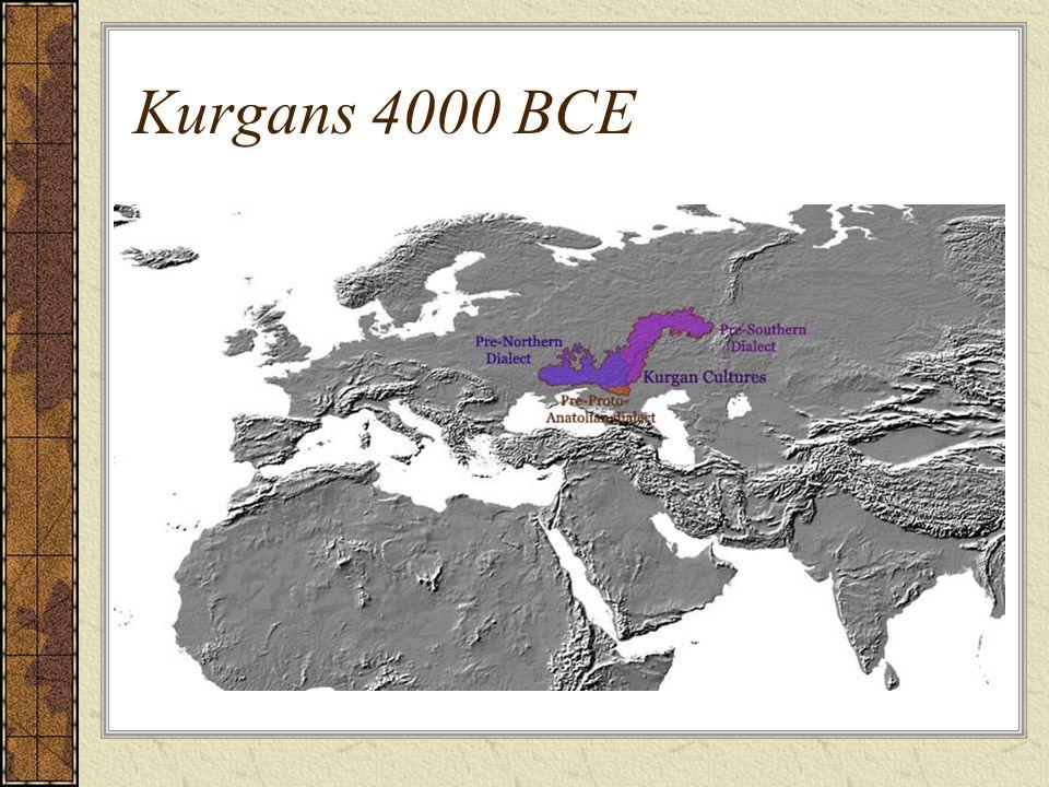 Kurgans 4000 BCE