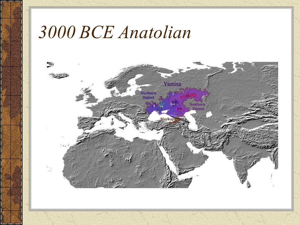 3000 BCE Anatolian