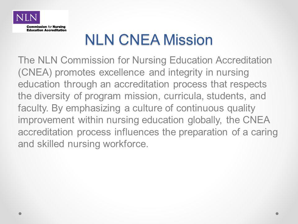 NLN CNEA Mission