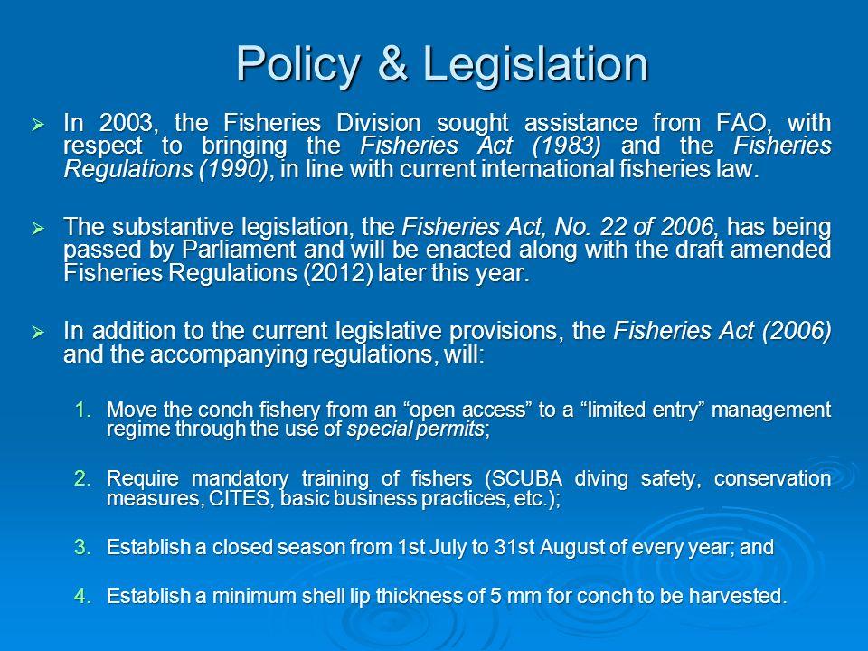 Policy & Legislation