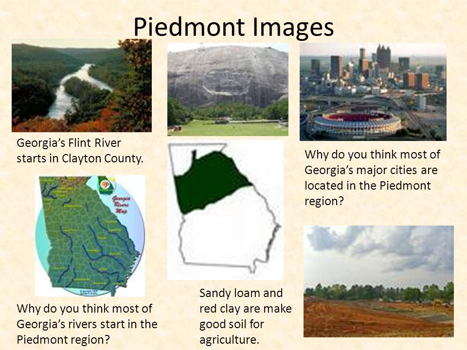 Piedmont Images Georgia's Flint River starts in Clayton County.