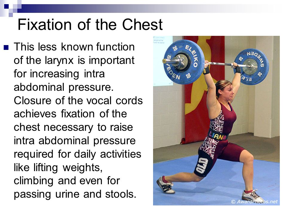 Fixation of the Chest