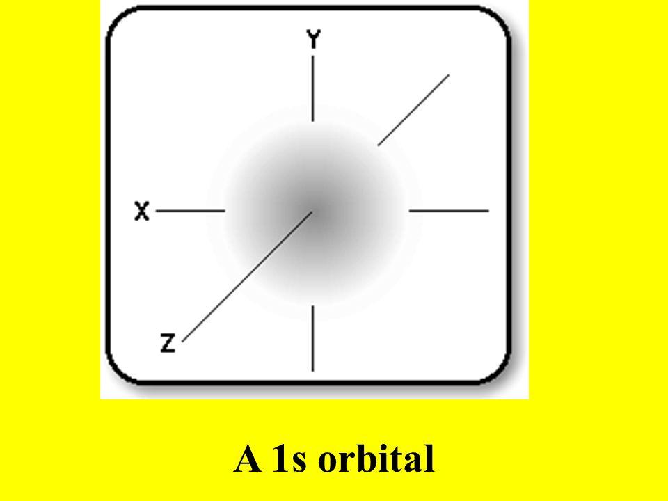 A 1s orbital