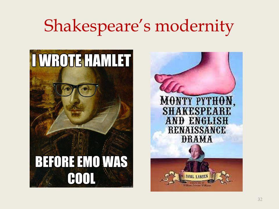 Shakespeare's modernity