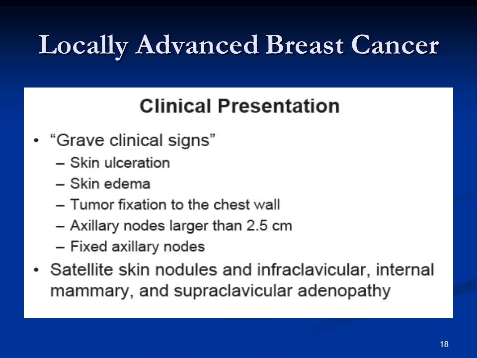 Locally Advanced Breast Cancer