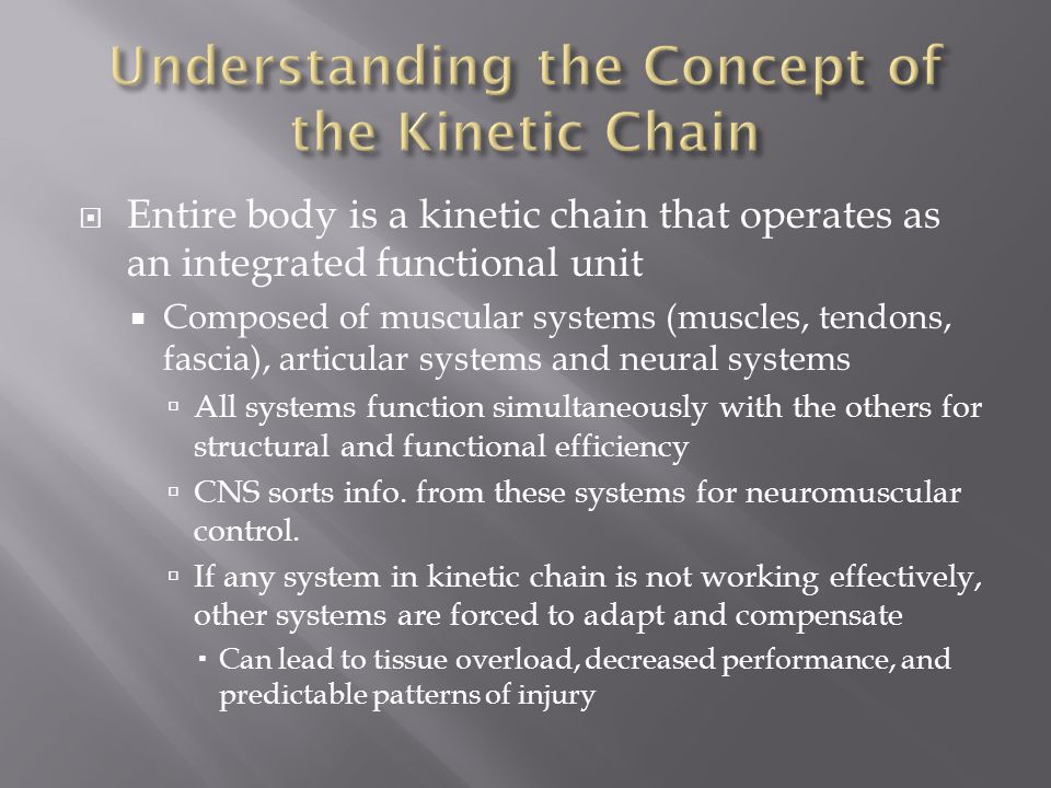 Understanding the Concept of the Kinetic Chain