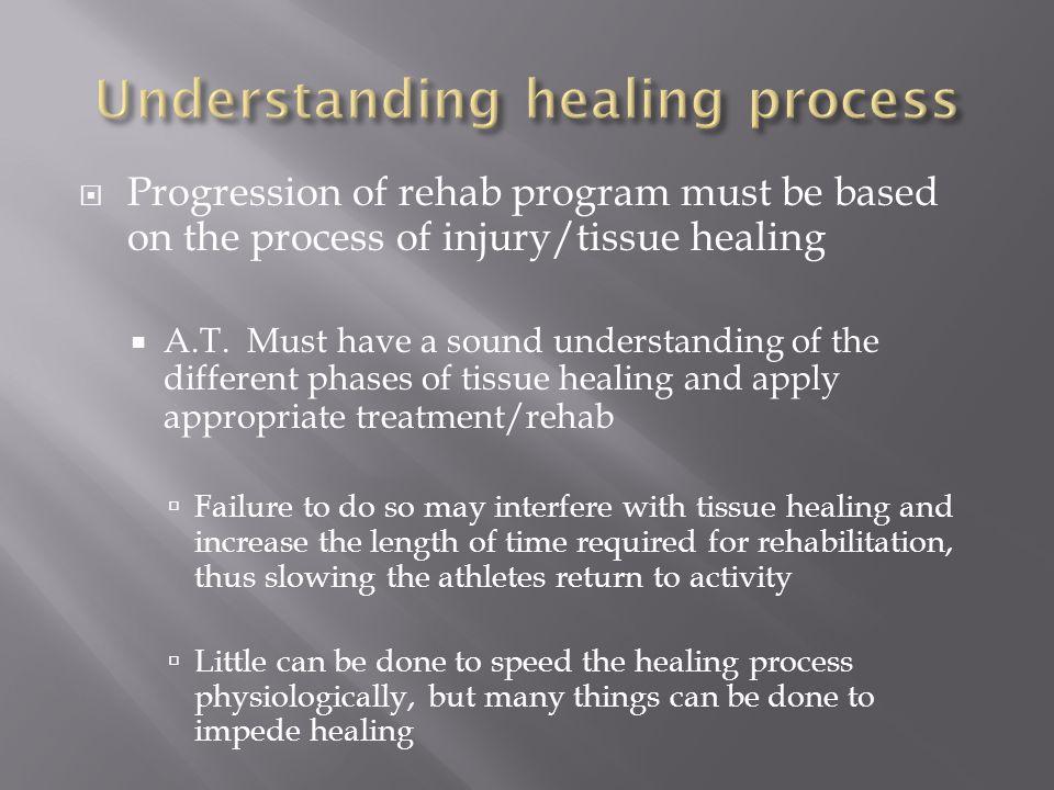 Understanding healing process