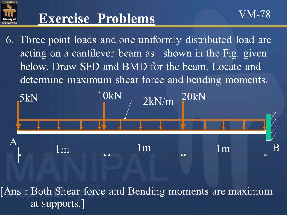 VM-78 Exercise Problems.