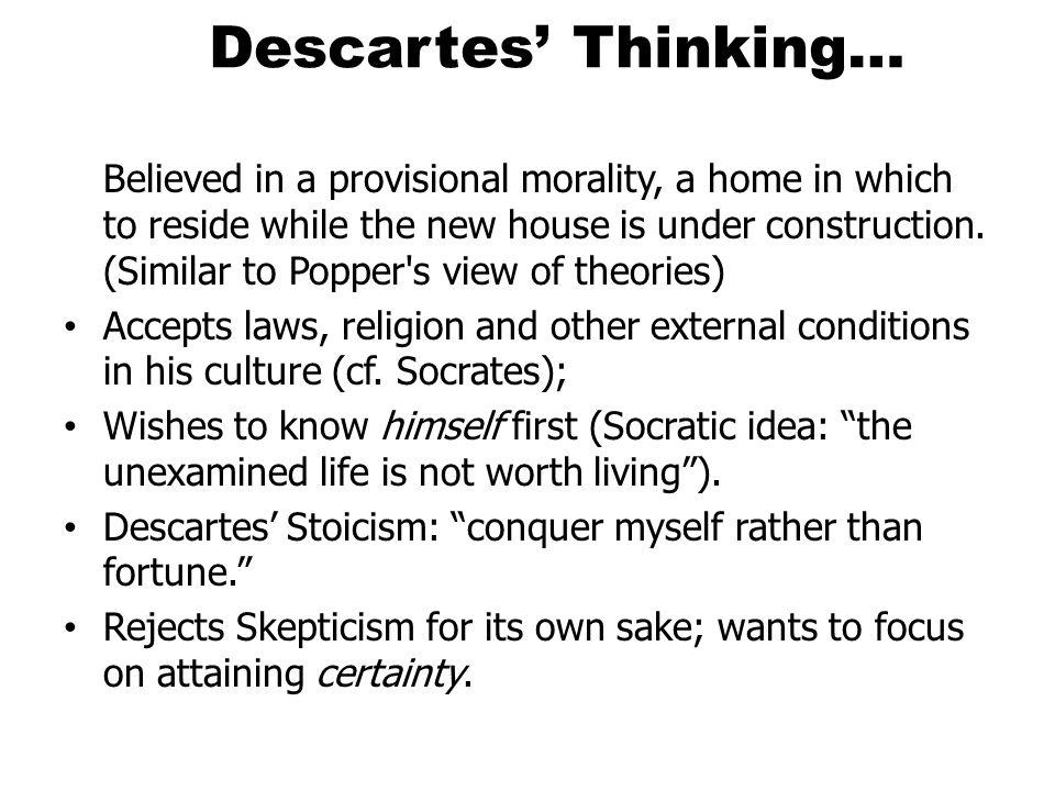 Descartes' Thinking…