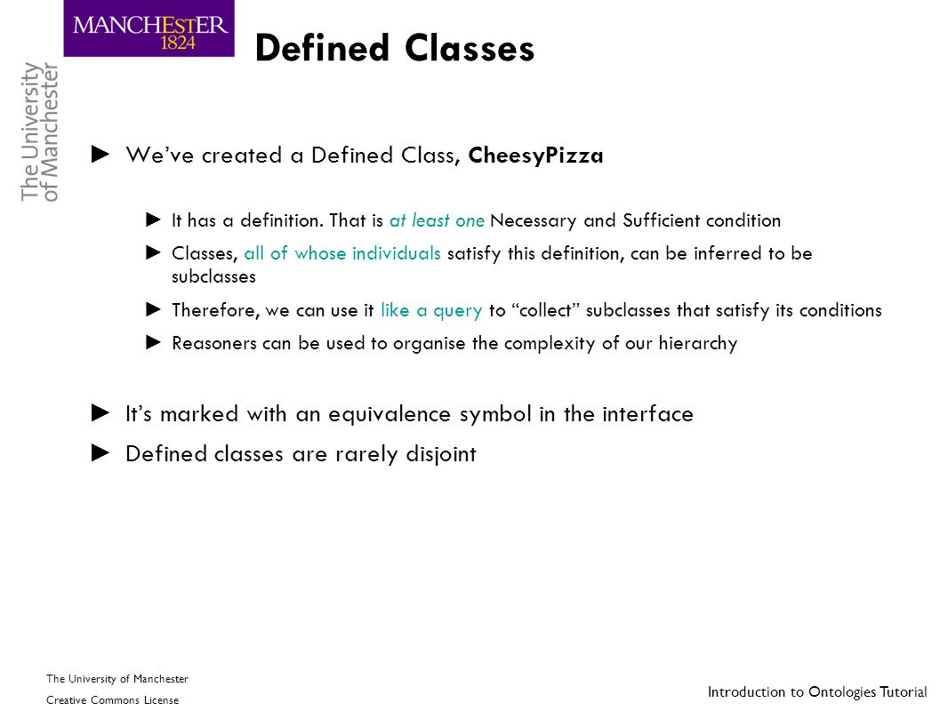 Defined Classes We've created a Defined Class, CheesyPizza