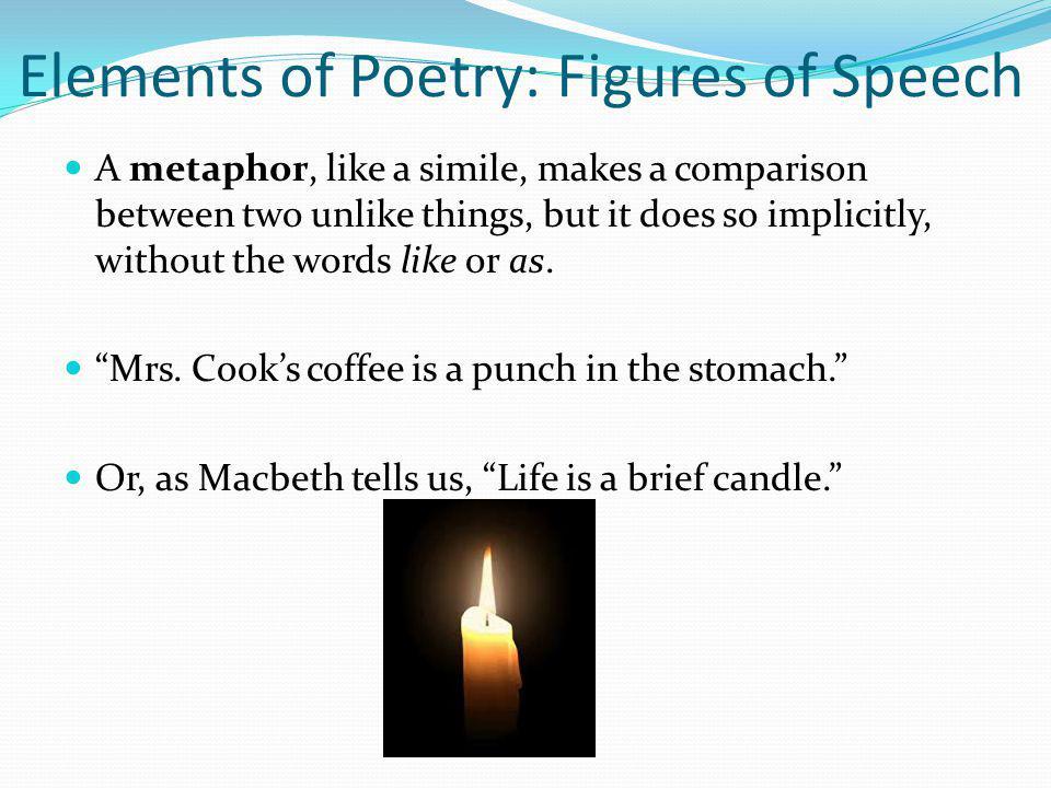 Elements of Poetry: Figures of Speech