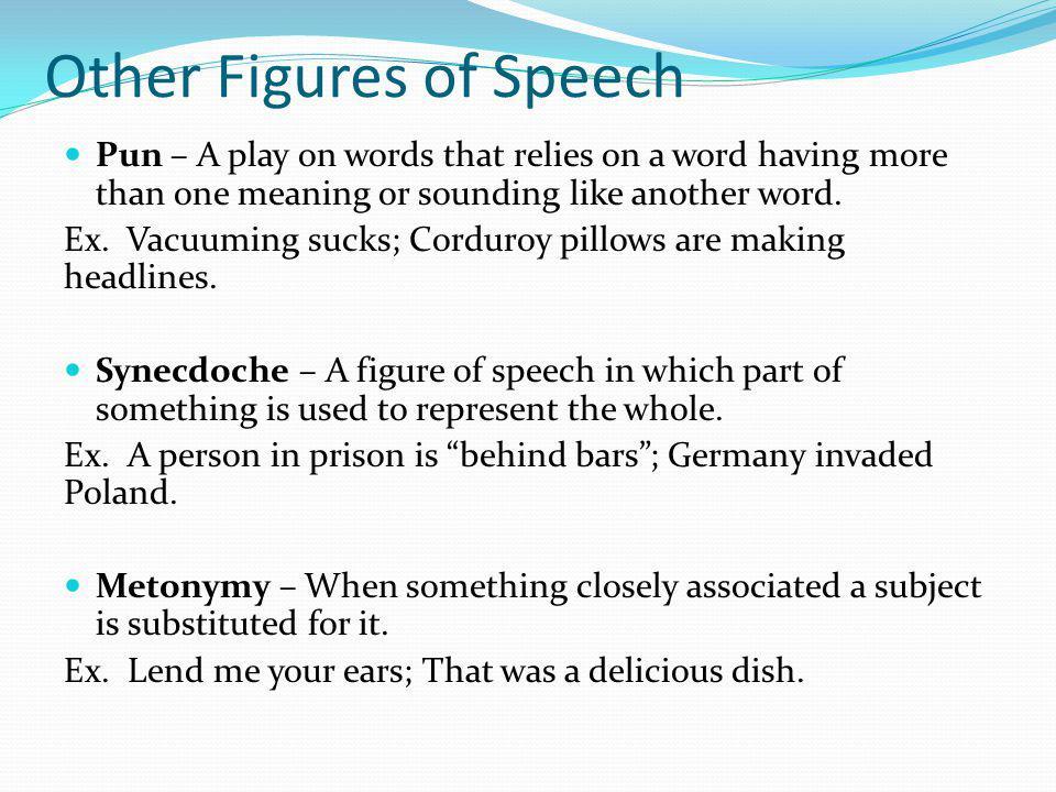 Other Figures of Speech