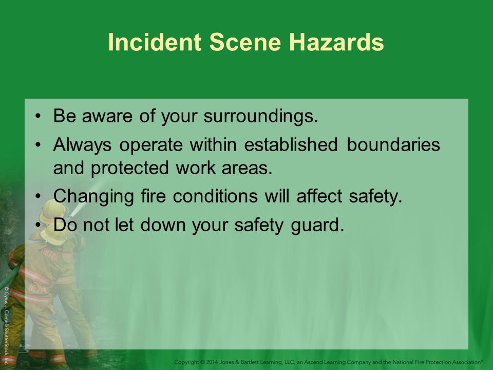 Incident Scene Hazards
