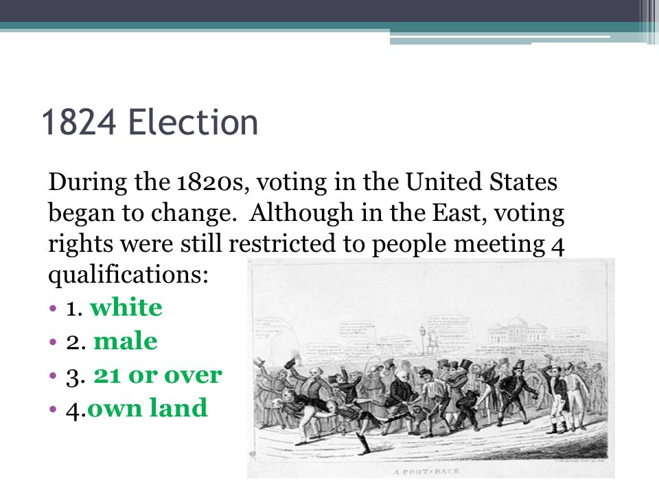1824 Election