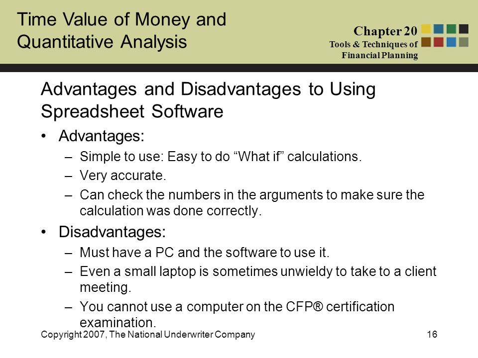 Advantages and Disadvantages to Using Spreadsheet Software