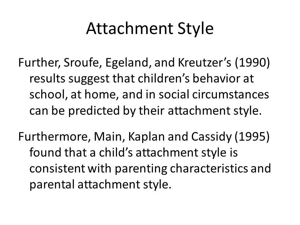 Attachment Style
