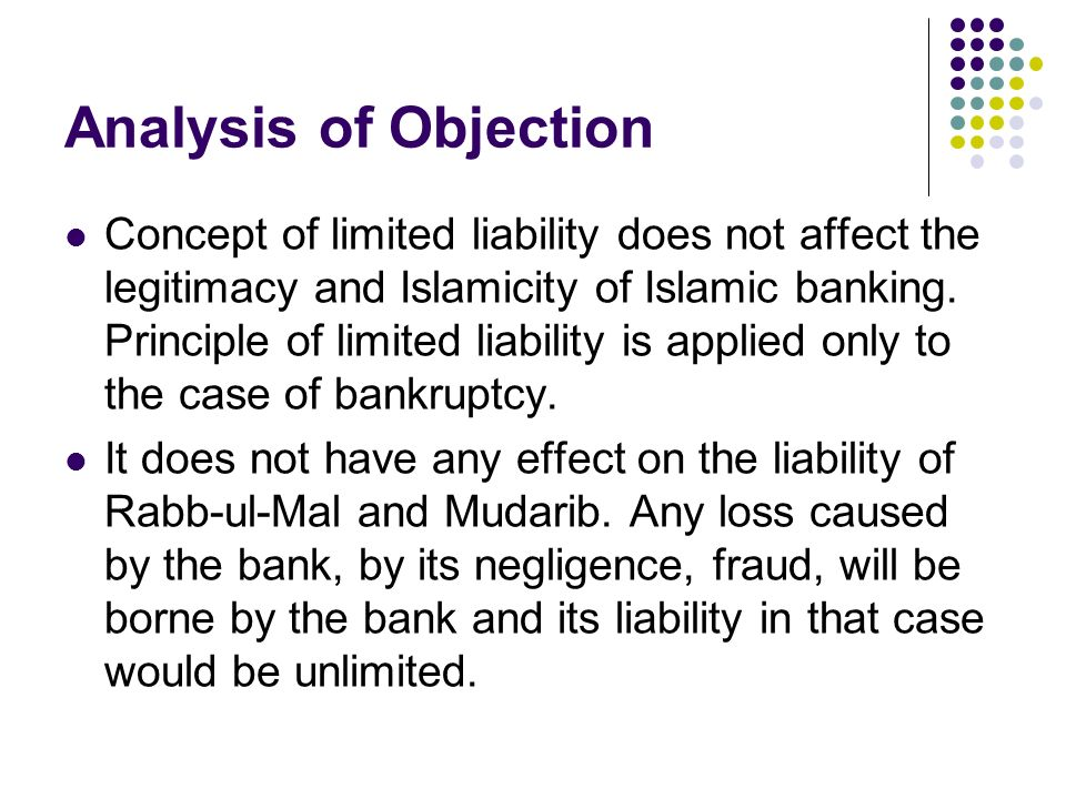 Analysis of Objection