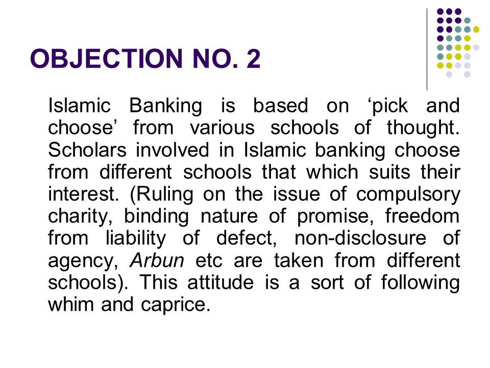 OBJECTION NO. 2