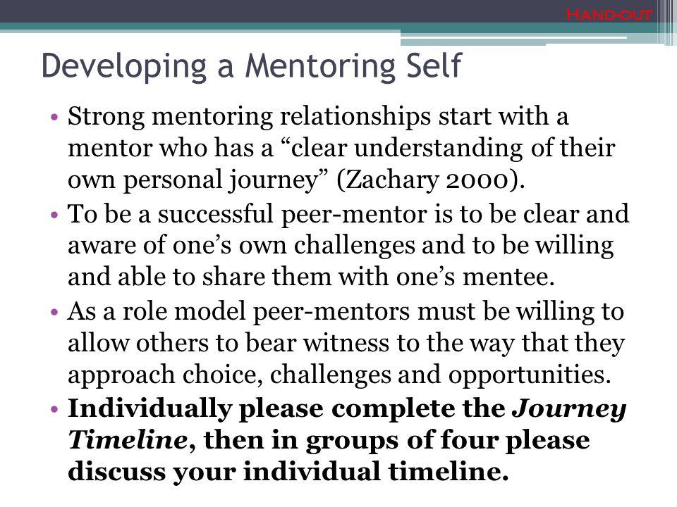 Developing a Mentoring Self