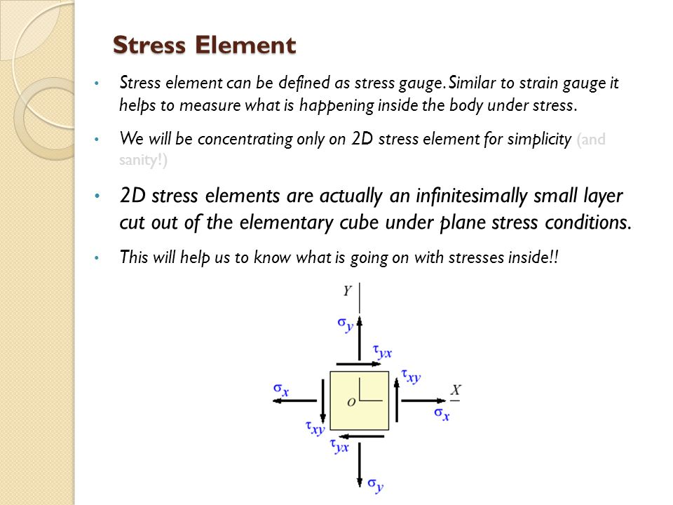 Stress Element
