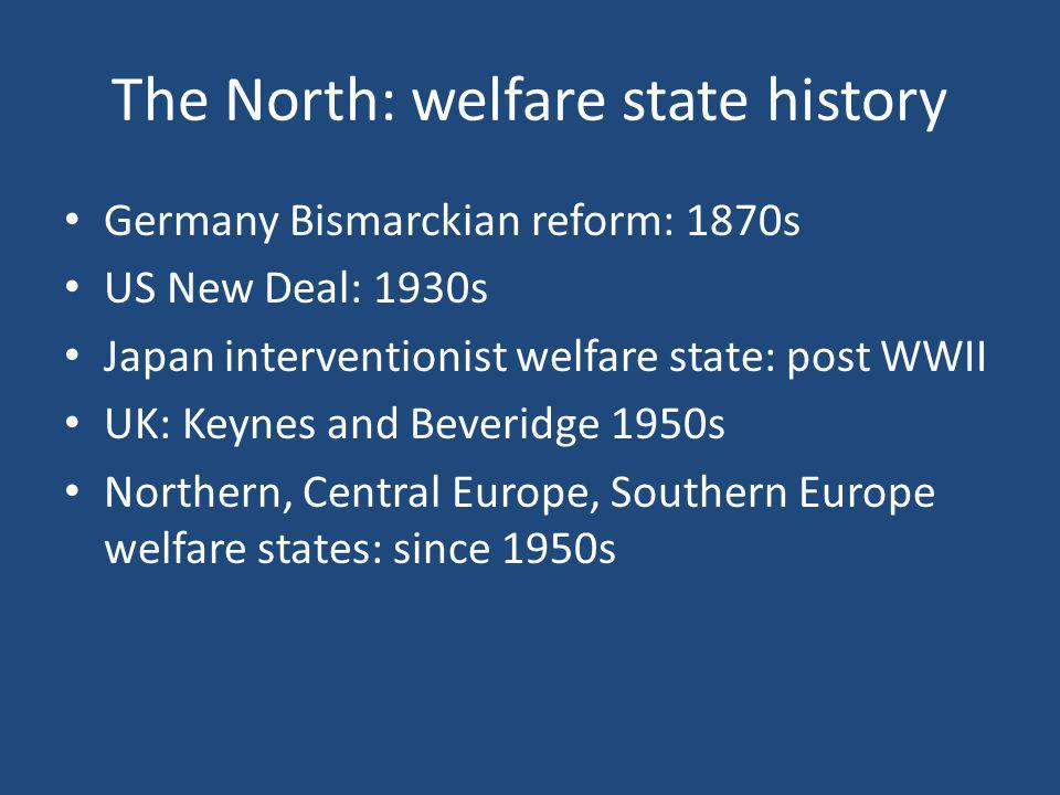 The North: welfare state history