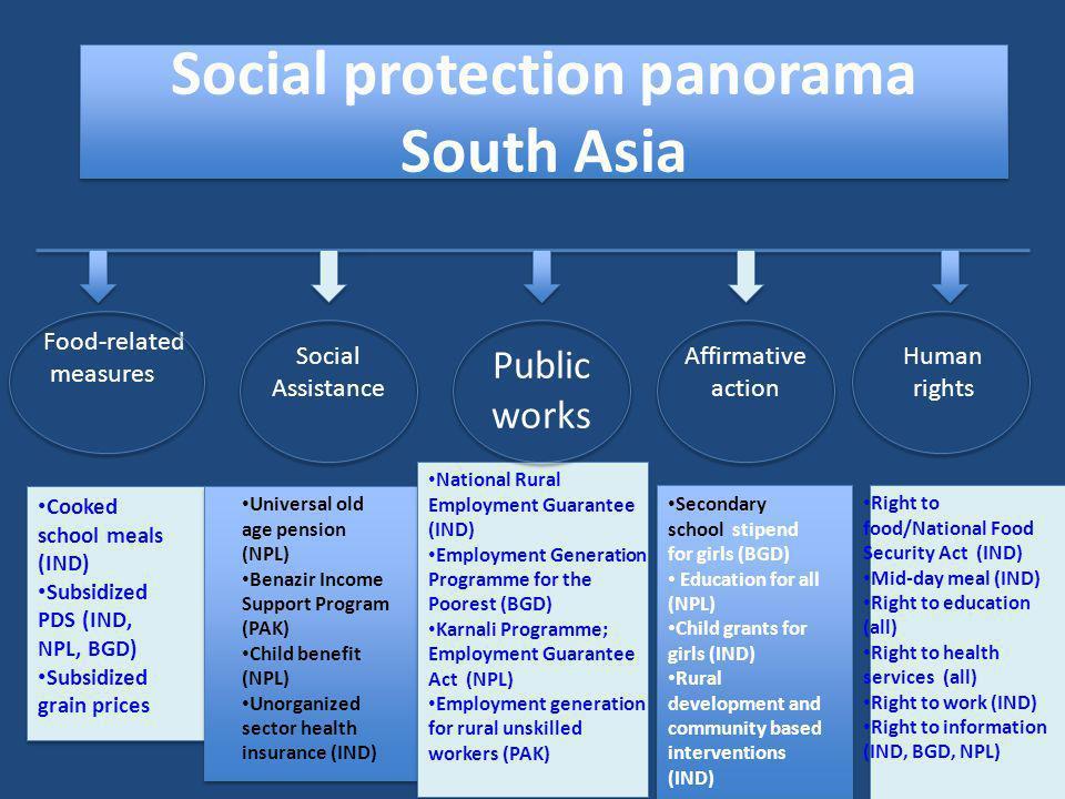 Social protection panorama