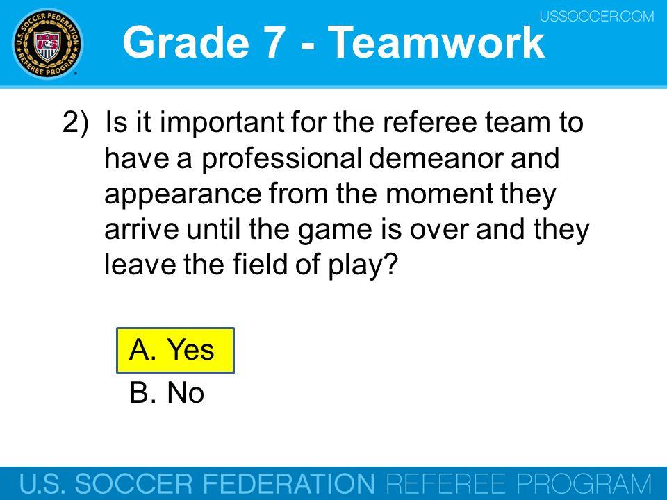 Grade 7 - Teamwork