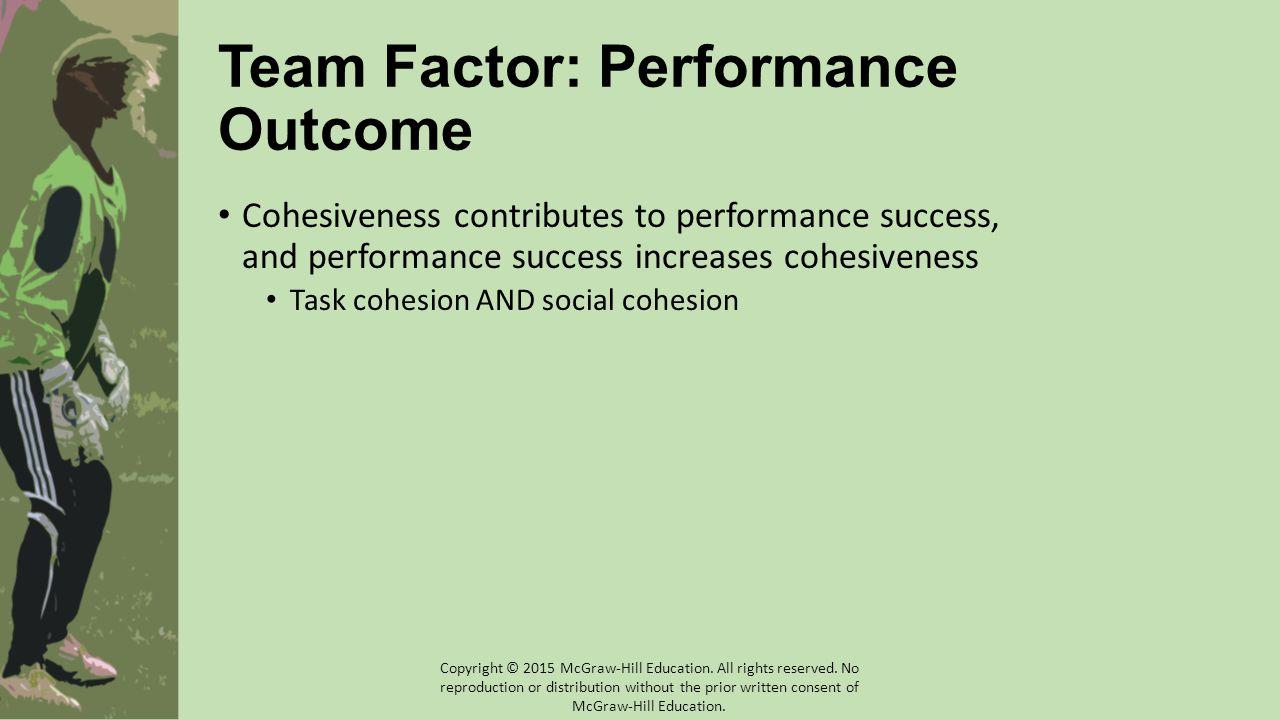 Team Factor: Performance Outcome