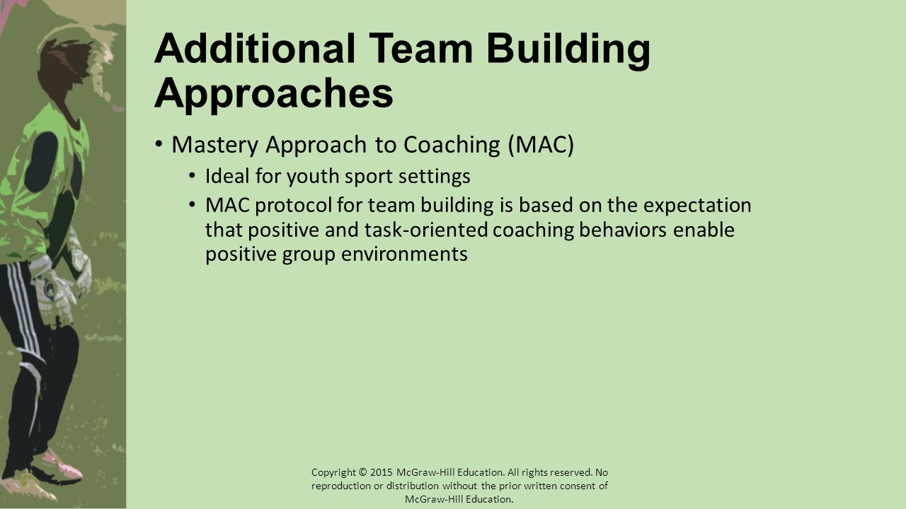 Additional Team Building Approaches