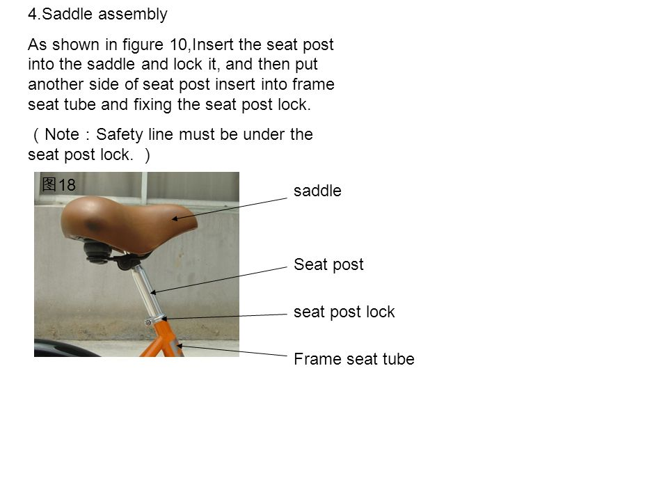 4.Saddle assembly