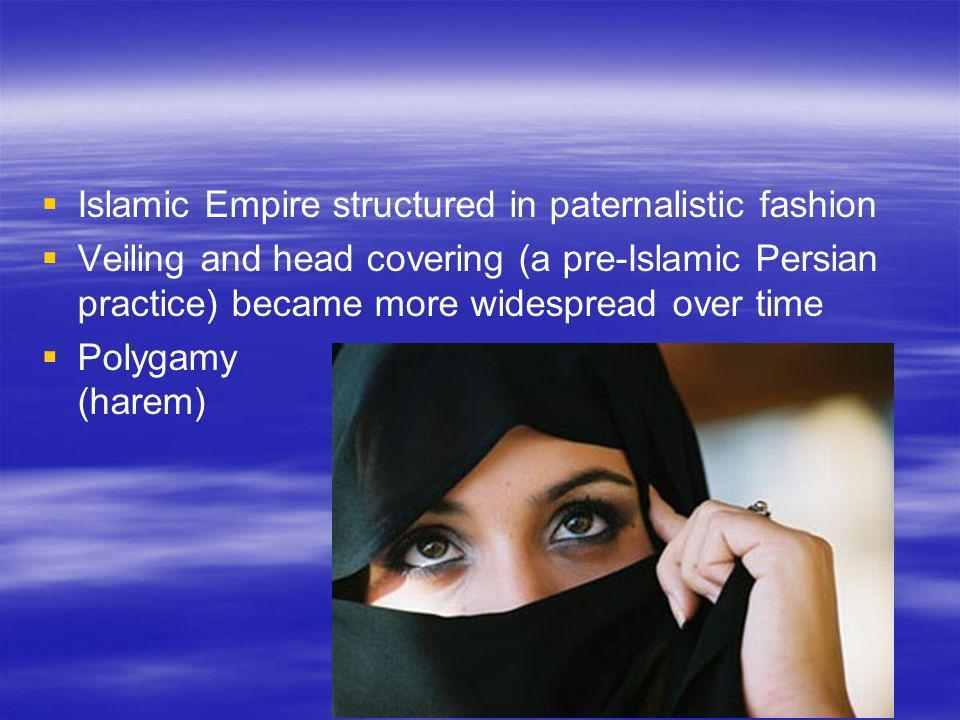 Islamic Empire structured in paternalistic fashion