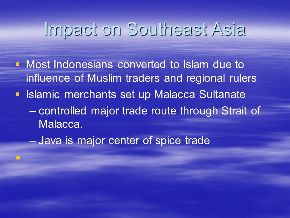 Impact on Southeast Asia