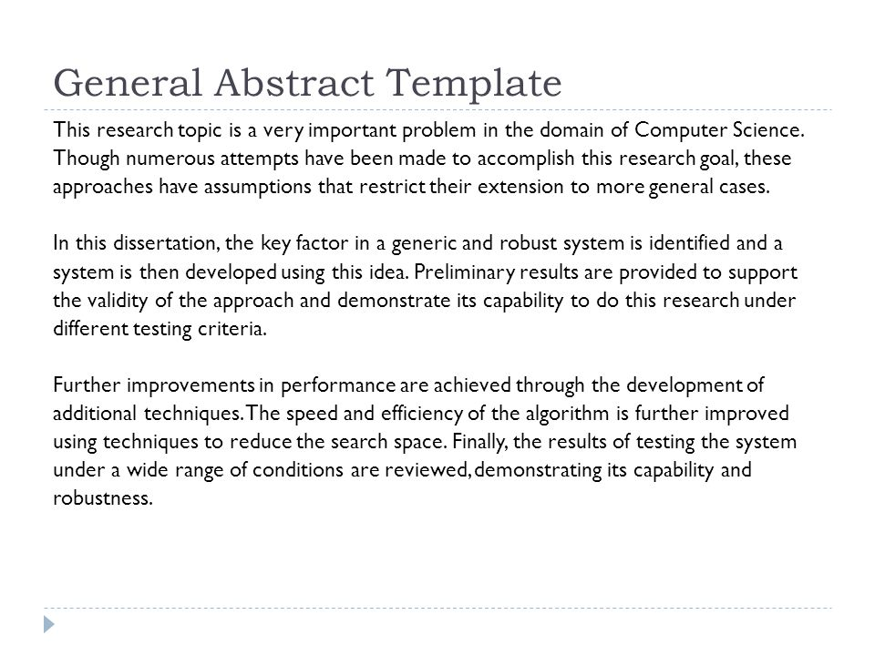 computer science research paper abstract Engineering and science1  the abstract reduces the whole paper to a single paragraph many times, the abstract will  research paper it contains a general.