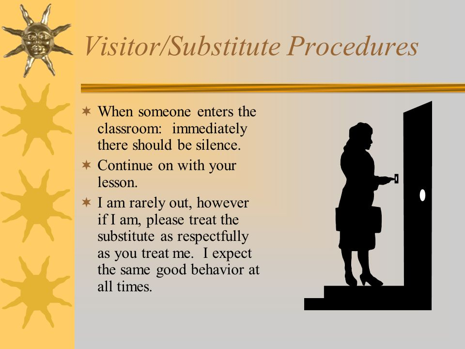 Visitor/Substitute Procedures