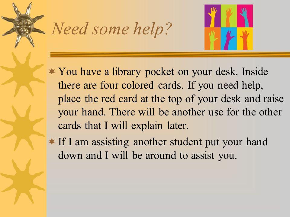 Need some help