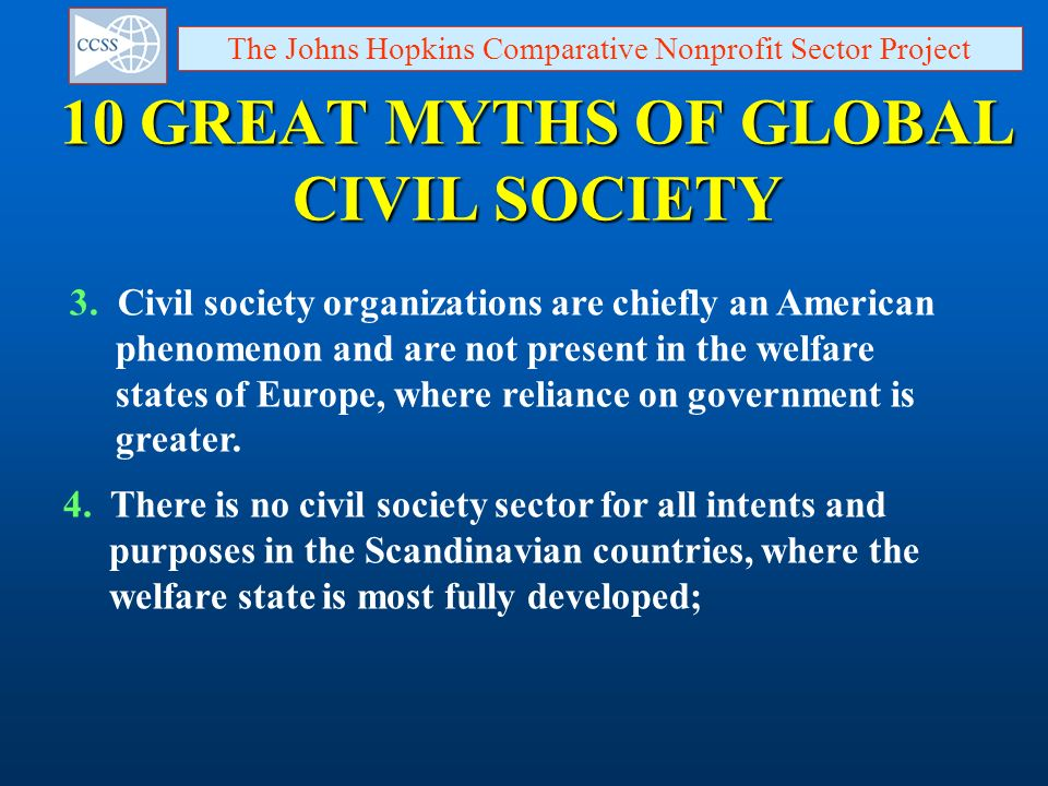 10 GREAT MYTHS OF GLOBAL CIVIL SOCIETY