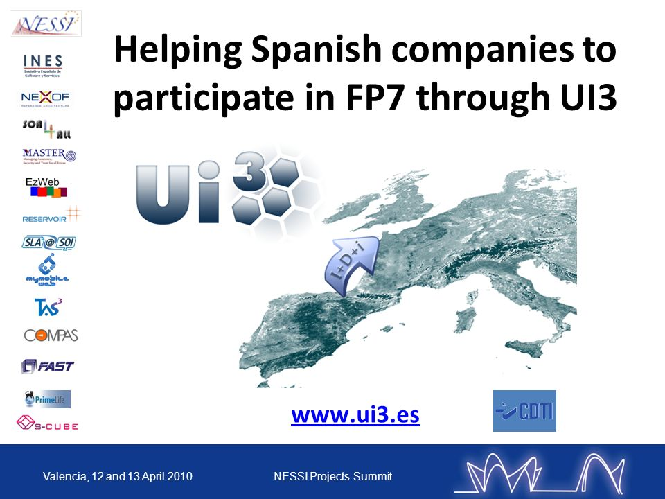 Helping Spanish companies to participate in FP7 through UI3