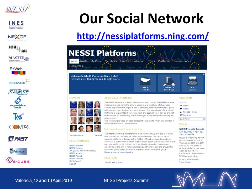 Our Social Network http://nessiplatforms.ning.com/