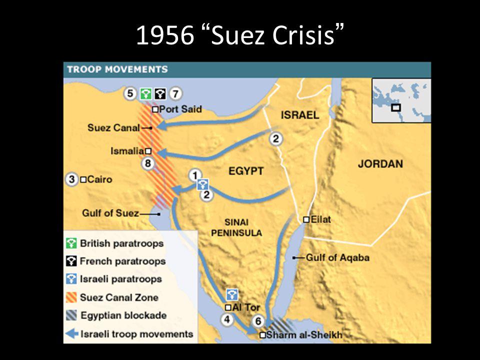 1956 Suez Crisis