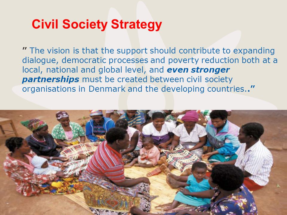 Civil Society Strategy