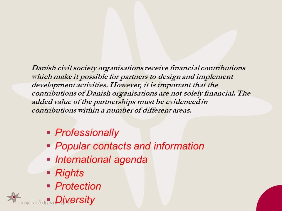 Popular contacts and information International agenda Rights