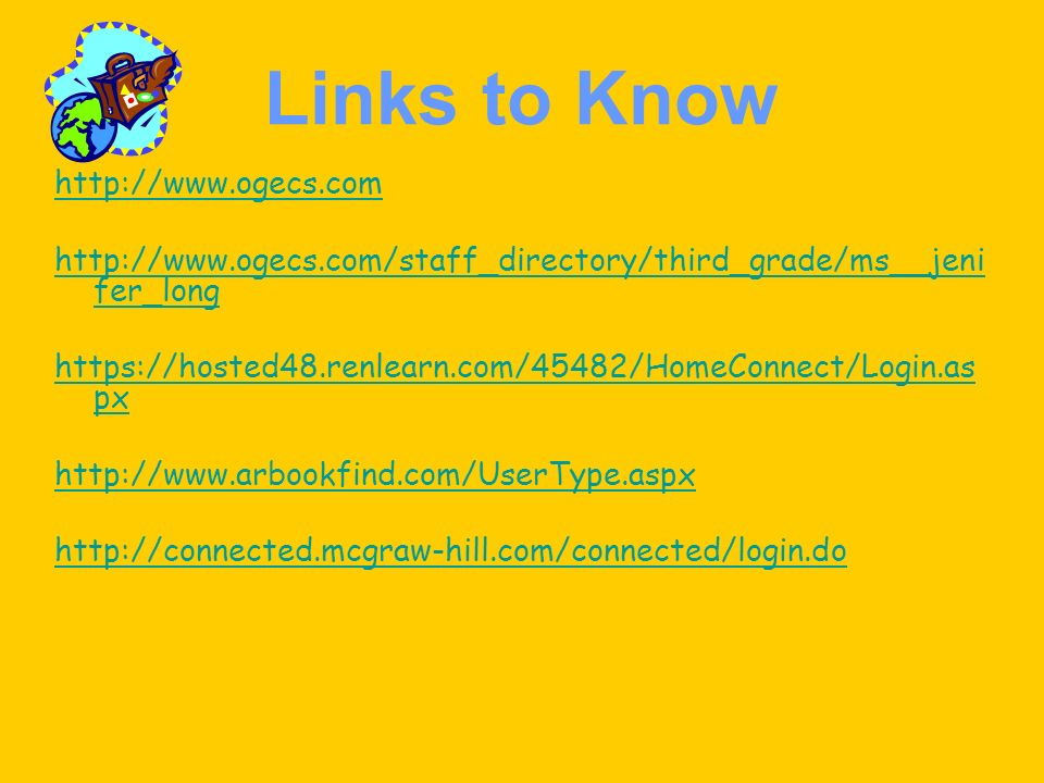 Links to Know