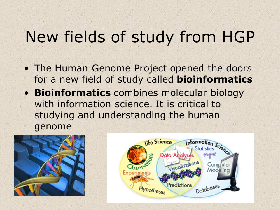 New fields of study from HGP