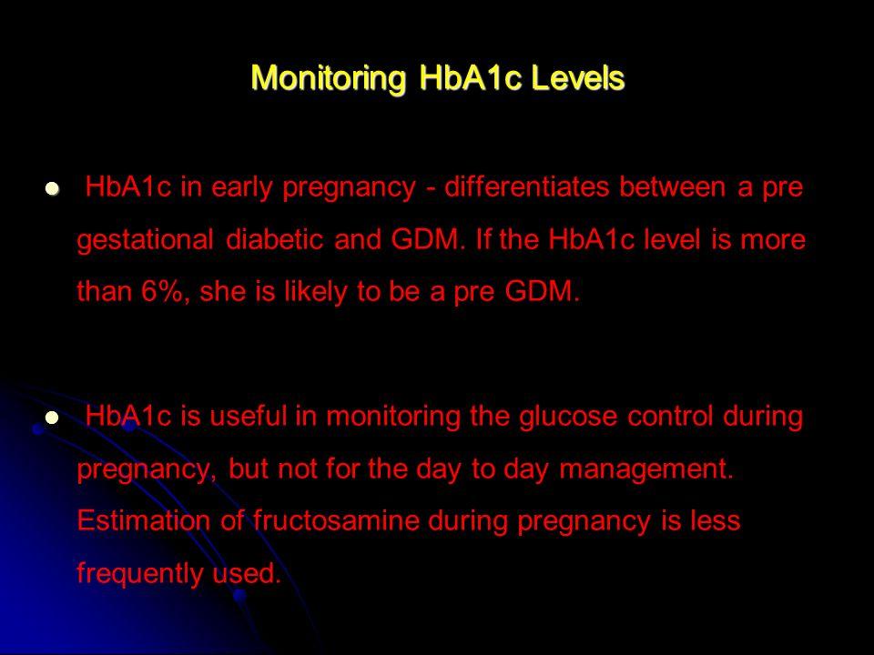 Monitoring HbA1c Levels