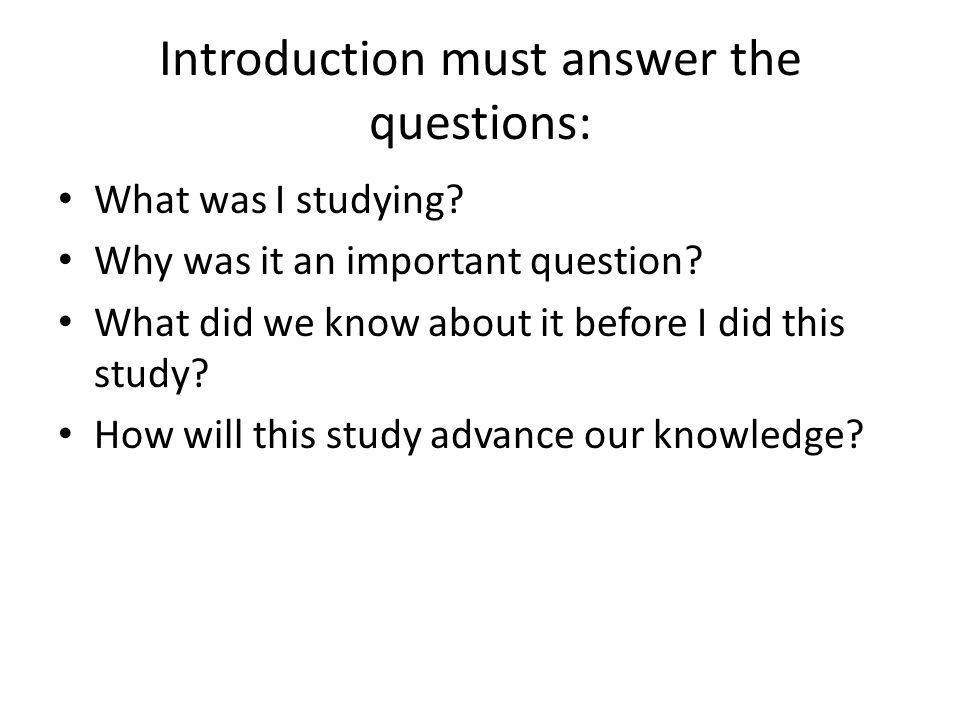 how to write an academic paper ppt Tips for writing effective introductions try writing your introduction last often for other types of academic writing, including research papers.