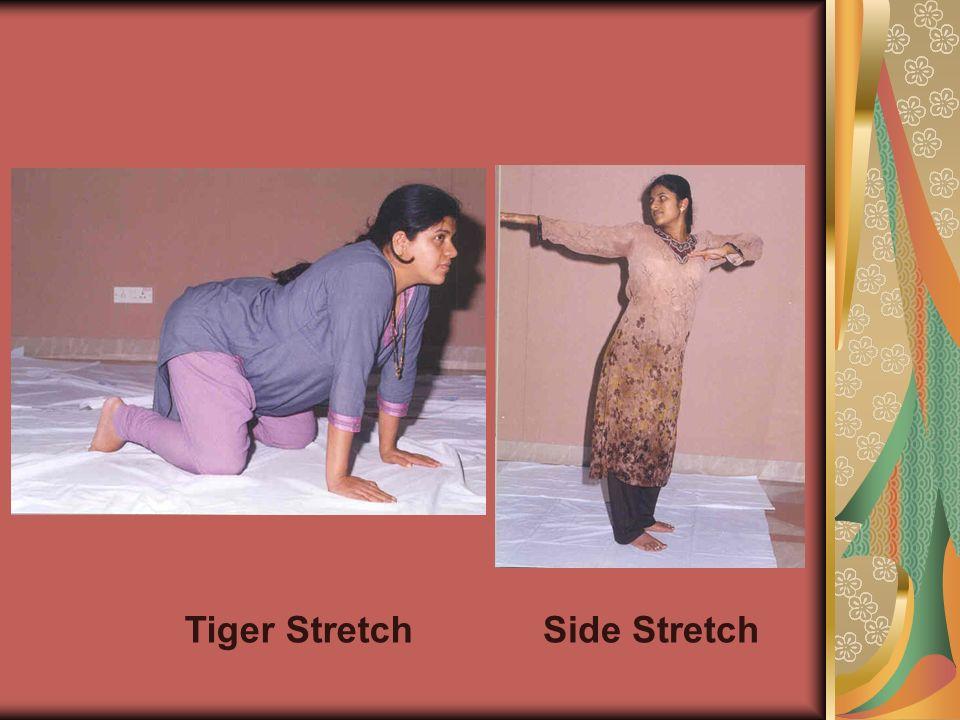 Tiger Stretch Side Stretch