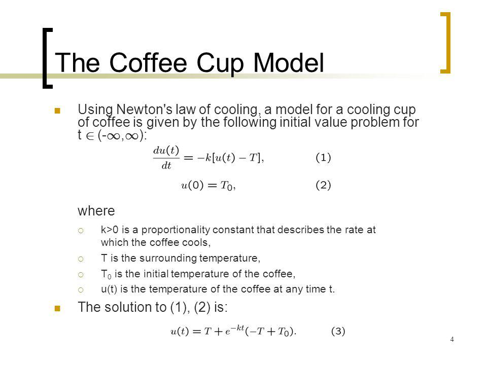 The Coffee Cup Model where